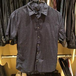 John Varvatos USA - Short Sleeve Shirt - Floral
